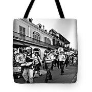 Jazz Funeral Bw Tote Bag
