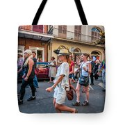 Jazz Funeral...the Second Line 4 Tote Bag