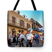 Jazz Funeral...the Second Line   Tote Bag