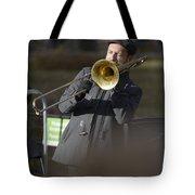 Jazz In Central Park 1 Tote Bag