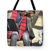 Jazz In Central Park 2 Tote Bag