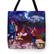 Jazz In Heaven Tote Bag