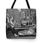 Jazz In The Park Tote Bag