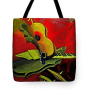Jazz Infusion Tote Bag