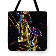Jazz Lights Tote Bag