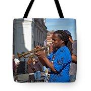 Jazz Man Tote Bag