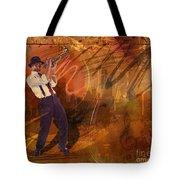 Jazz Nrg Tote Bag by Bedros Awak