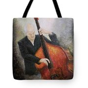 Jazz Player Tote Bag