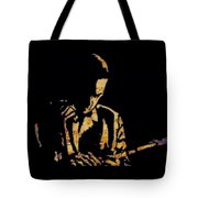 Jazz Player From New Orleans Tote Bag