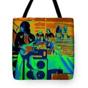 Jb #33 Enhanced In Cosmicolors Tote Bag