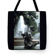 J.c.nichols Fountain 1 Kc.mo Tote Bag