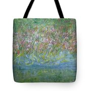 je t'aime Monet Tote Bag