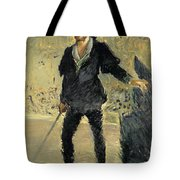 Jean Baptiste Faure In The Opera Hamlet By Ambroise Thomas Tote Bag