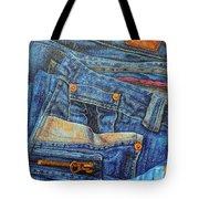 Jean Junkie Tote Bag
