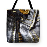Jeans - Abstract Tote Bag