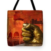Jeddah Monument 01 Tote Bag