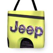 Jeep Logo Tote Bag