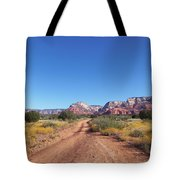 Jeep Trail Tote Bag