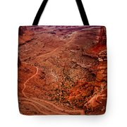 Jeep Trails Tote Bag by Robert Bales