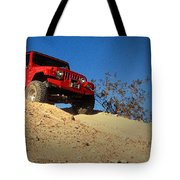 Jeepin' The Mojave Tote Bag