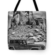 Jeep...it's A State Of Mind Tote Bag
