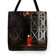 Jeff And George Tote Bag
