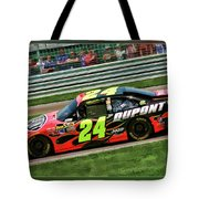 Jeff Gordon Tote Bag