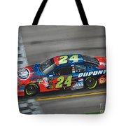 Jeff Gordon Dupont Chevrolet Tote Bag