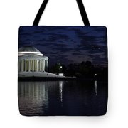 Jefferson At Dusk0253 Tote Bag