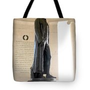 Jefferson Memorial In Washington Dc Tote Bag