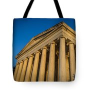 Jefferson Memorial Oblique Tote Bag