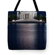 Jefferson Memorial Washington D C Tote Bag by Steve Gadomski