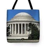 Jefferson Memorial Washington Tote Bag