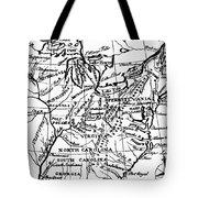 Jefferson: States, 1784 Tote Bag