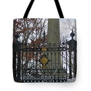 Jefferson's Grave Tote Bag