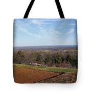 Jefferson's View From Monticello Tote Bag
