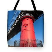 Jeffrey's Hook Lighthouse I Tote Bag