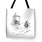 Jehoshaphat! Look At That Gait! Tote Bag