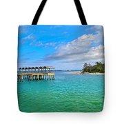 Jekyll Island Just Like Paradise Tote Bag