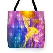 Jelly Fish Dance Tote Bag