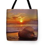 Jelly Fish Sunrise Avon Pier 1 1/15 Tote Bag
