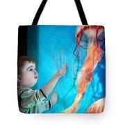 Jellyfish Boy Tote Bag