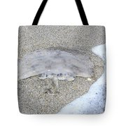 Jellyfish On The Sand Tote Bag