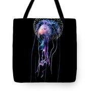Jellyfish  Pelagia Noctiluca  With Fish Tote Bag