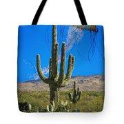 Jellyfish Rising Palm Springs Tote Bag