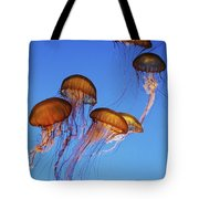 Jellyfish Swarm Tote Bag