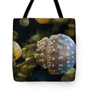 Jellyfish Swimming Right Tote Bag