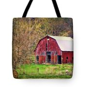 Jemerson Creek Barn Tote Bag
