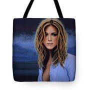 Jennifer Aniston Painting Tote Bag