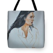 Jennifer Connelly Tote Bag